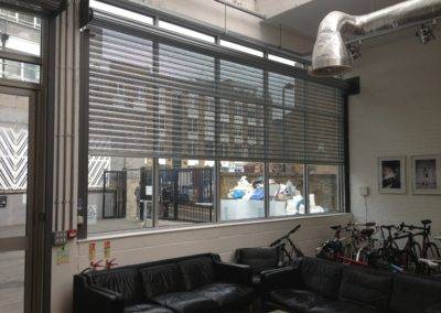 Perforated Office Shutter