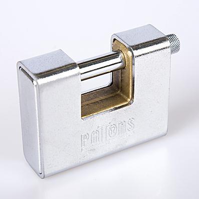 Steel Ground Lock Pad Lock