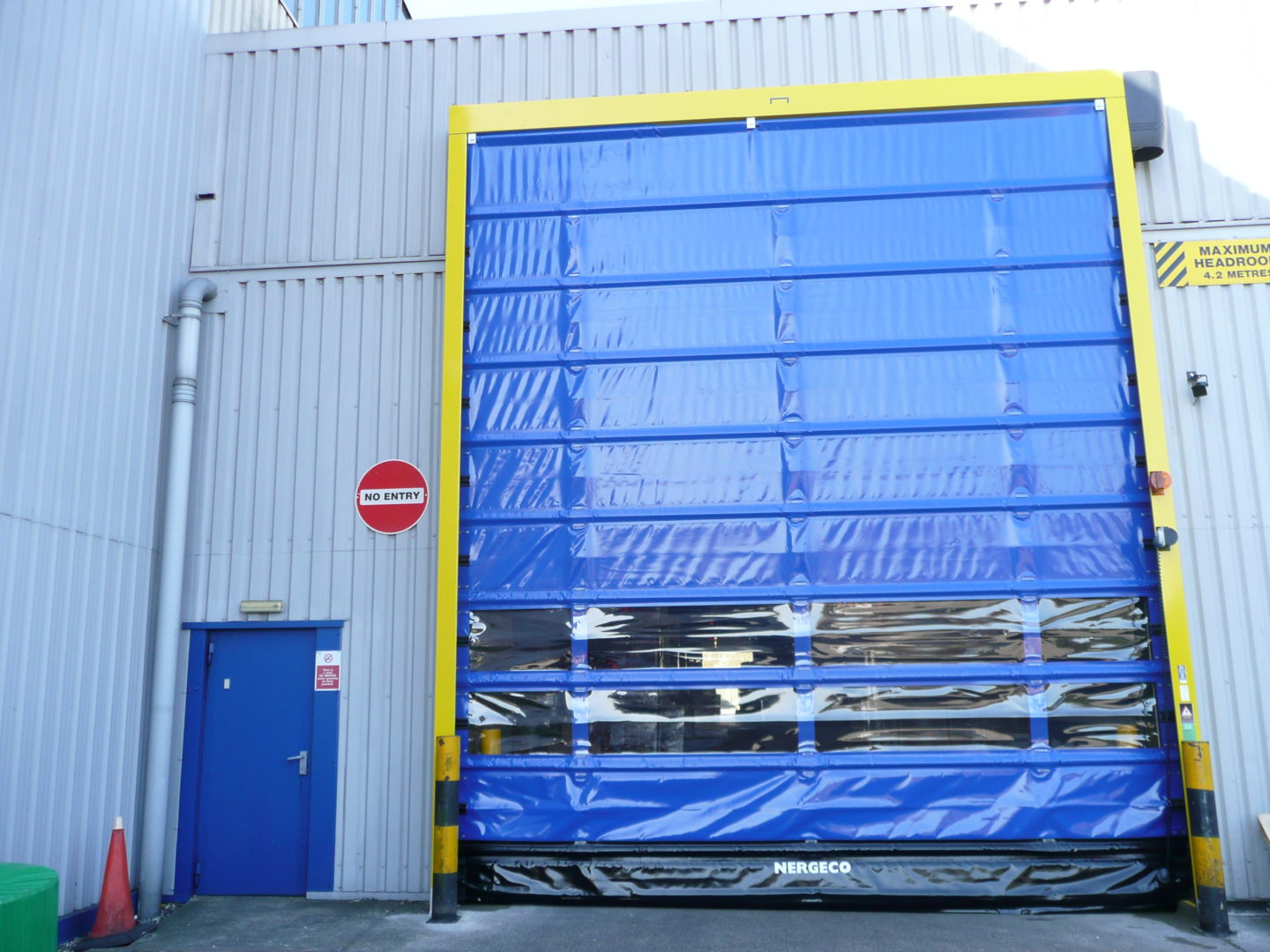 High Speed Doors Contact Roller Shutters