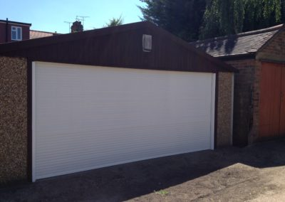 White 44mm Garage Shutter