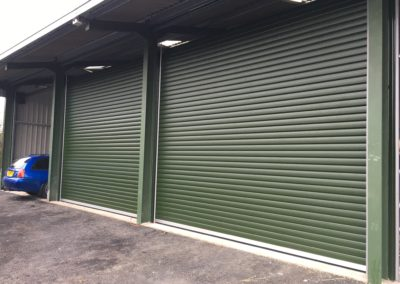 95mm Insulated Shutters at Lambourne End