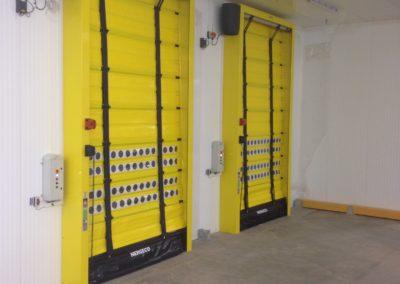 Chiller & Freezer Speed Doors