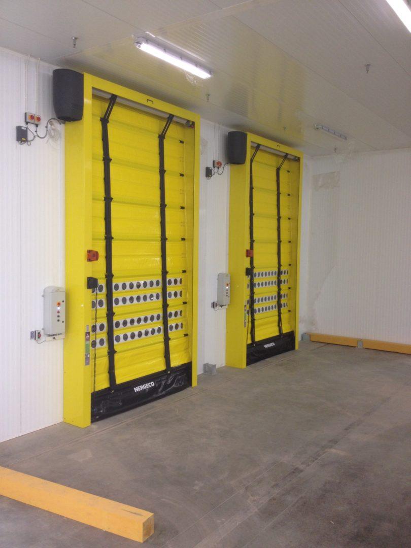 High Speed Doors Contact Roller Shutters