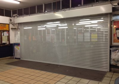 Enfield Station Security Shutter