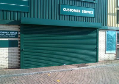 Worthing Entrance Security Shutter