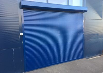 44mm Blue Shutter Futon Group