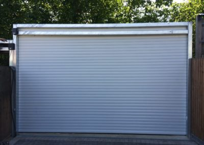 White 77mm Garage Shutter