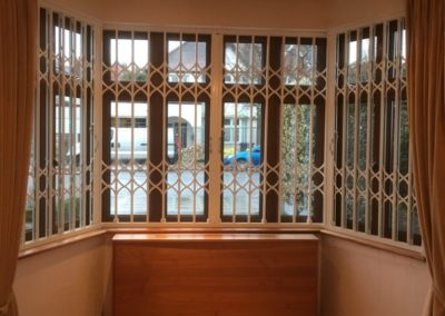 Lattice Gates on bay window