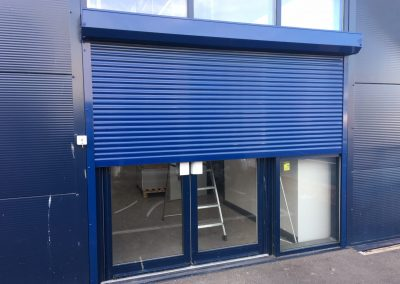Aluminium security shutter in Highams Park